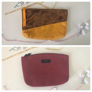 TWO Ipsy Bag Bundle: Jewel Tone